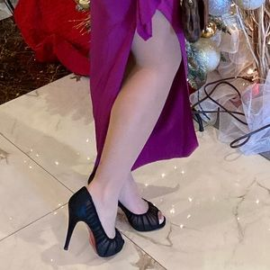 Authentic Christian Louboutin Peep Toe